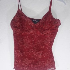Rampage Red and Gold Tank Top